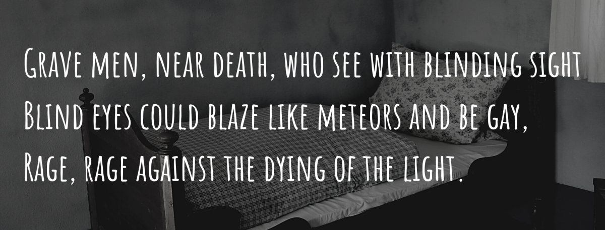 Fifth Stanza (Text by Dylan Thomas)