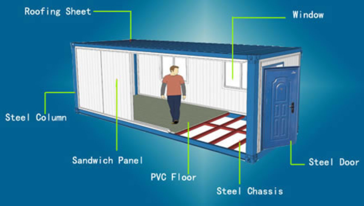 Container House Blueprint