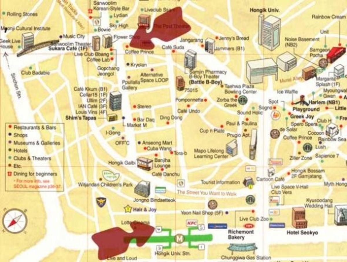 Coffee Prince Map