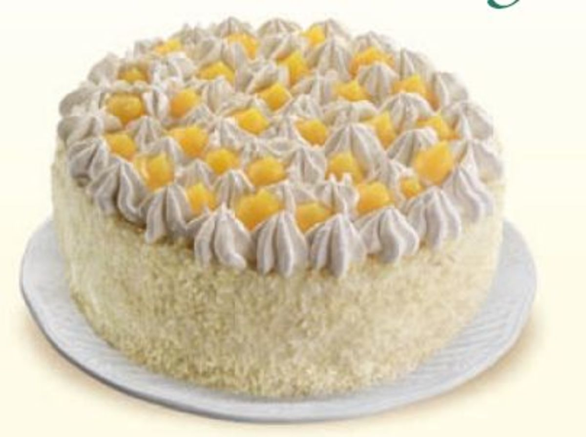 Torta Chantilly Cake