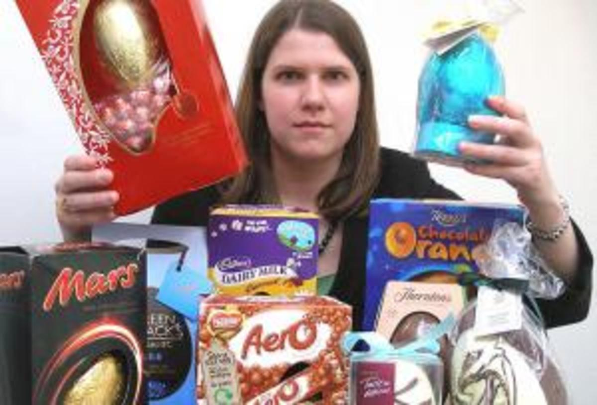 Easter Eggs are a really bad culprit for excessive packaging.