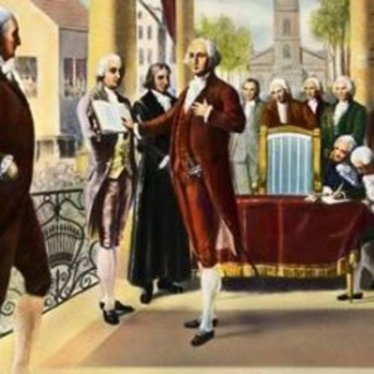 George Washington's Inauguration