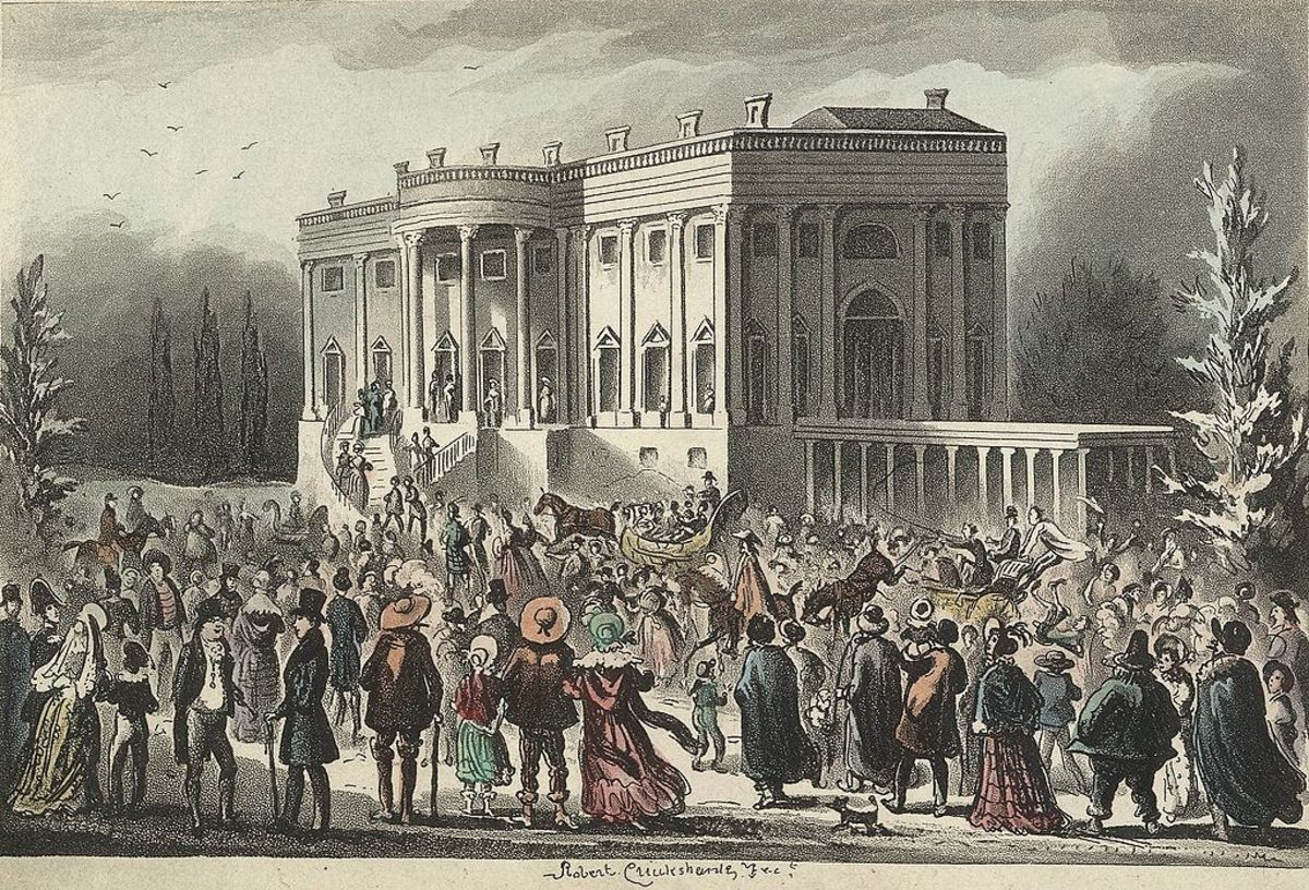 Andrew Jackson's first inauguration