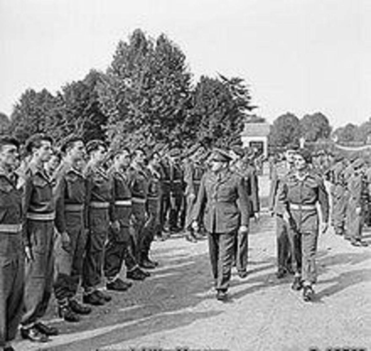 SAS recruits - Malaya 1950