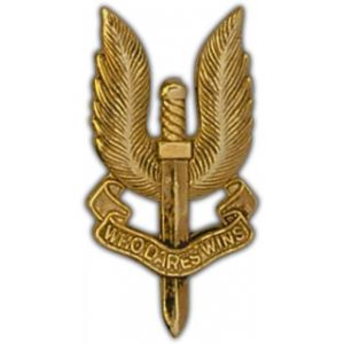 The SAS Logo/Motto - Who Dares Wins
