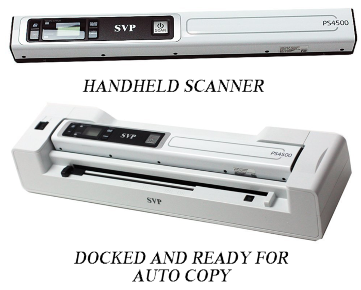 Versatile, and very practical, combo scanner from SVP.
