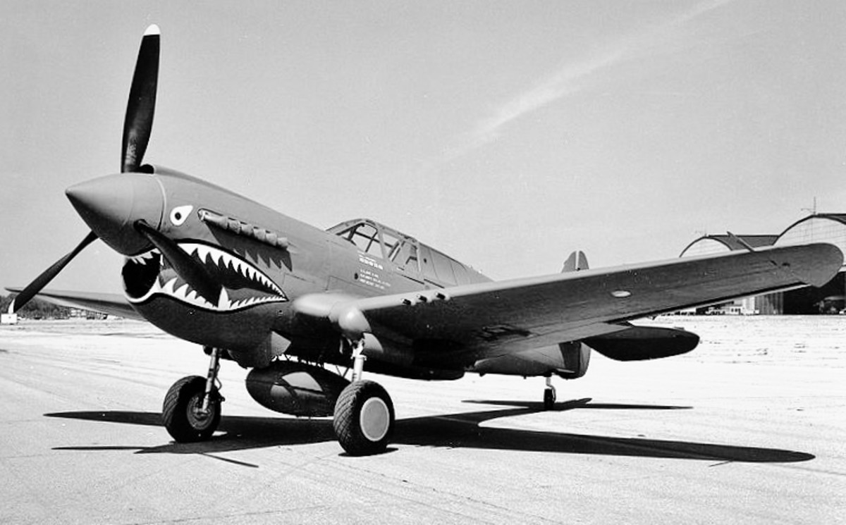 History Of The Curtiss P-40 Warhawk