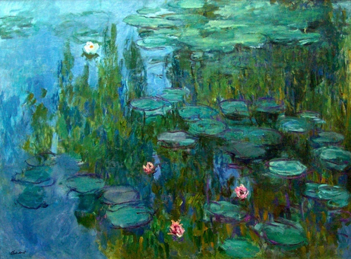 """Nympheas"" by Claude Monet"