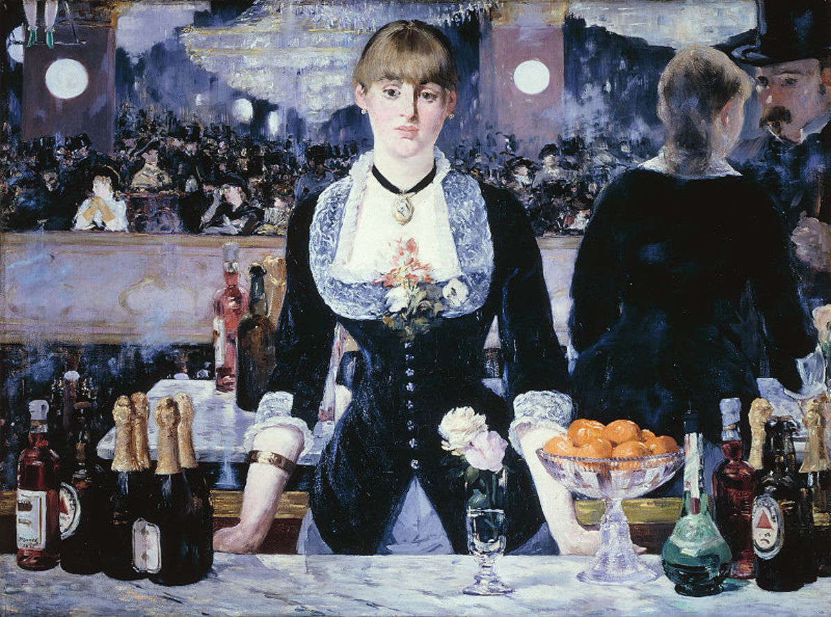 """A Bar at the Folies-Bergere"" (1882)"