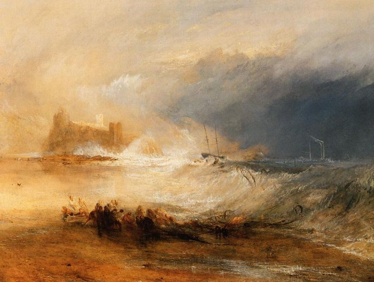 "J.M.W. Turner's ""Wreckers Coast of Northumberland"" (1836)"