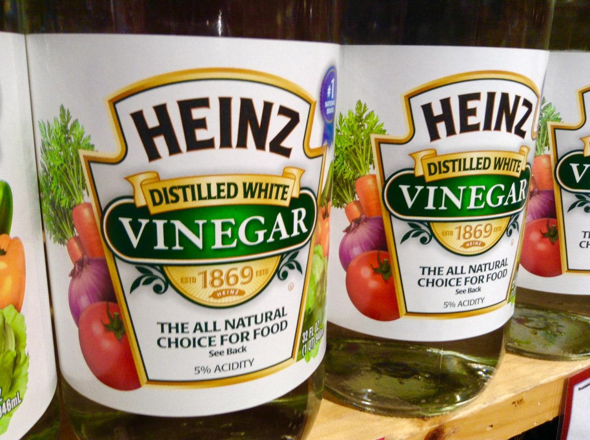 Simple Vinegar works best on lice