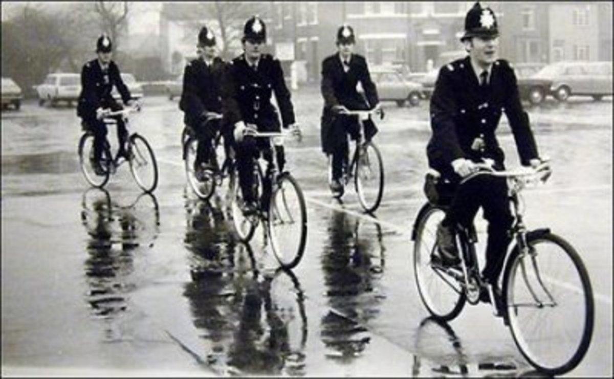 Bobby on a Bike 1950's