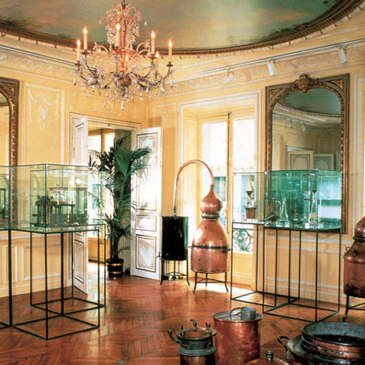 Interior of Fragonard museum of perfume
