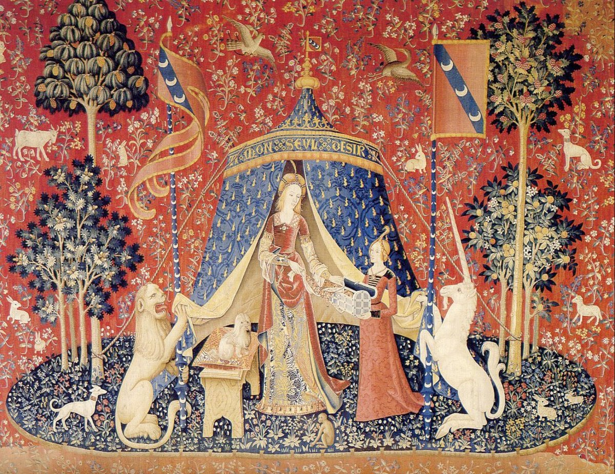 The most lovely, adored, perfectly preserved, yet enigmatic series of Renaissance tapestries. A premier experience for any art lover or lover of medieval symbols.
