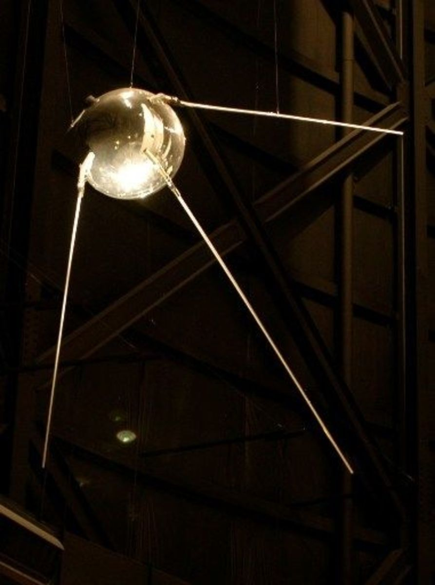 Russian Sputnik Replica