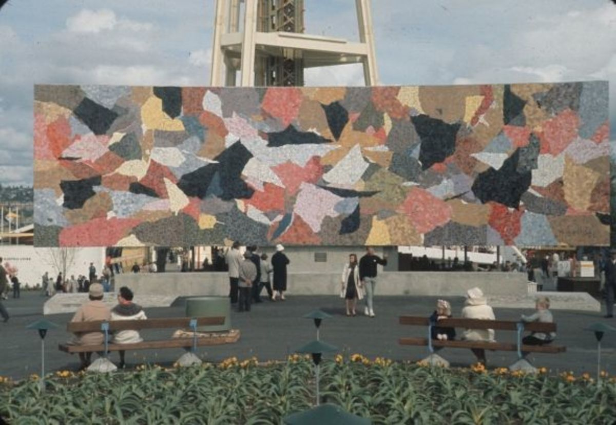 Horiuchi Mural Seattle Worlds Fair