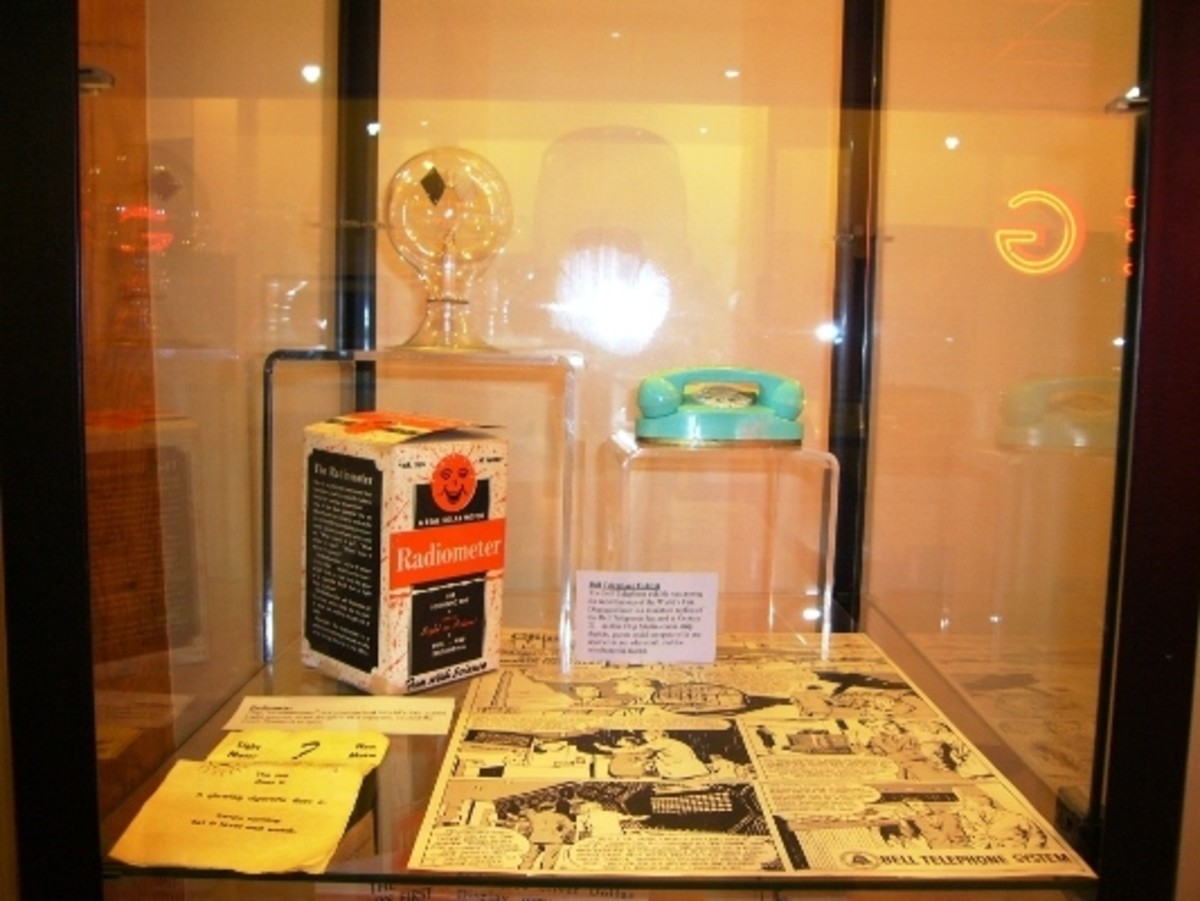 Some of the new inventions that were introduced at the 1962 Seattle World's Fair including the Princess Phone!