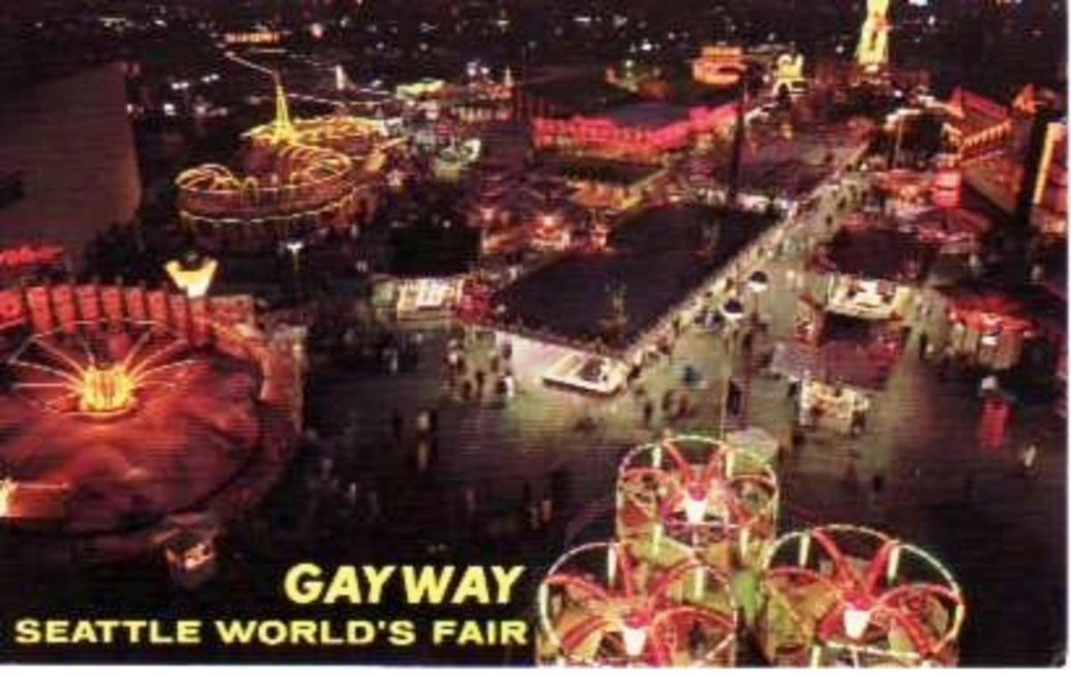 A Seattle World's Fair Gayway Postcard