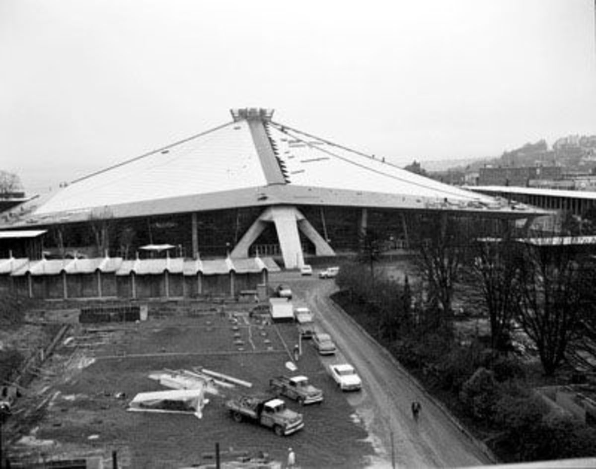 Seattle World Fair Washington State Coliseum