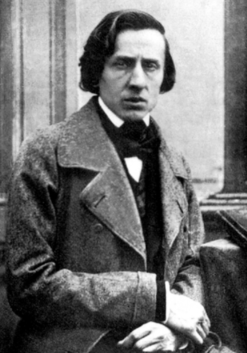 The Only Photograph of Frederic Chopin