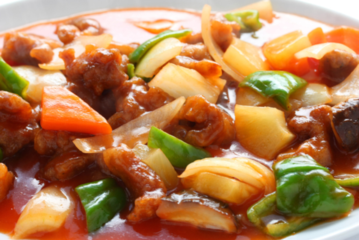 Sweet & Sour Pork: a wondrous dish too often mangled. Image:  bonchan|Shutterstock.com