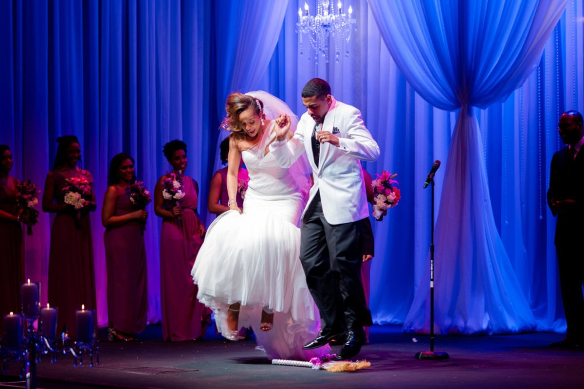 Jumping the broom is an African tradition