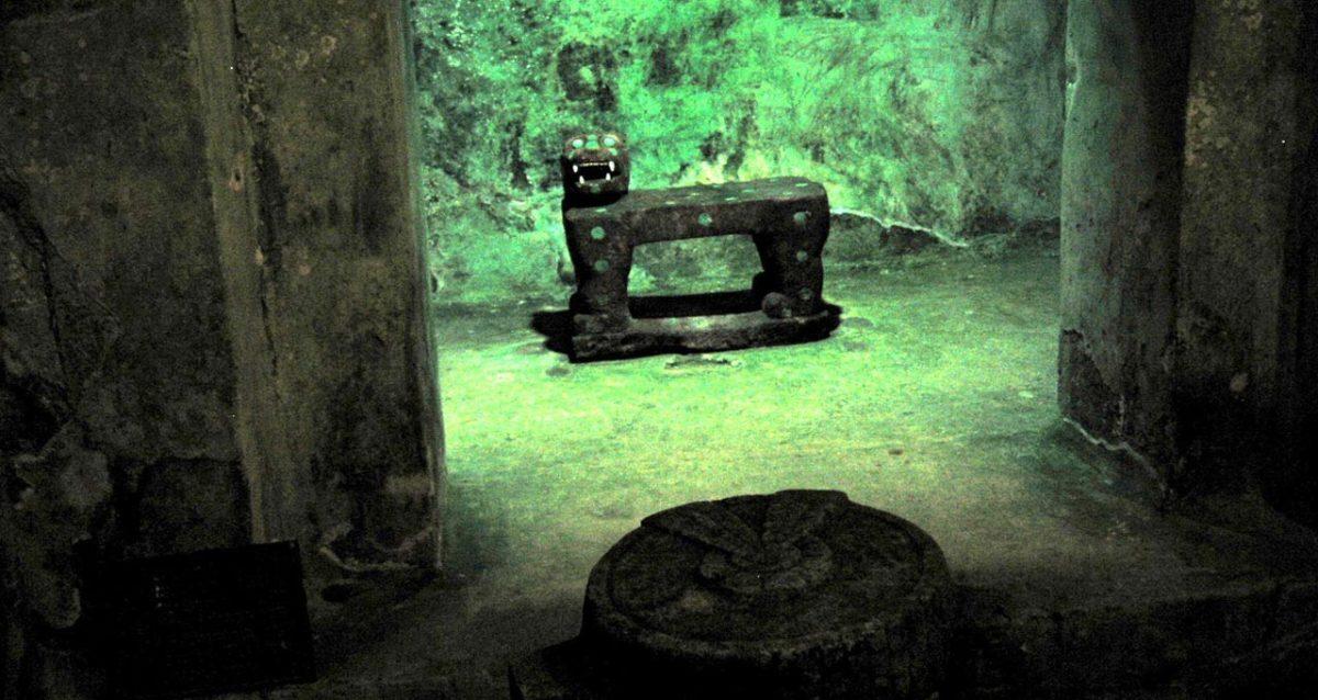 Mayan Jaguar at Chichen Itza