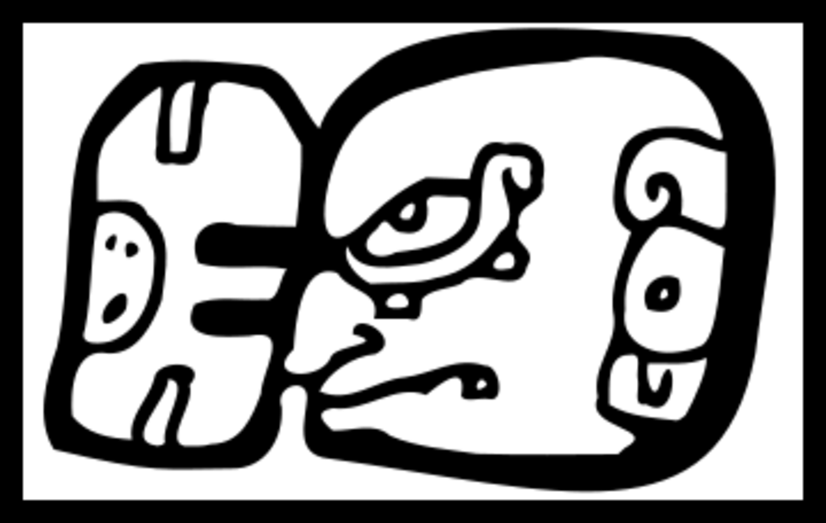 The glyph associated with Ixhcel