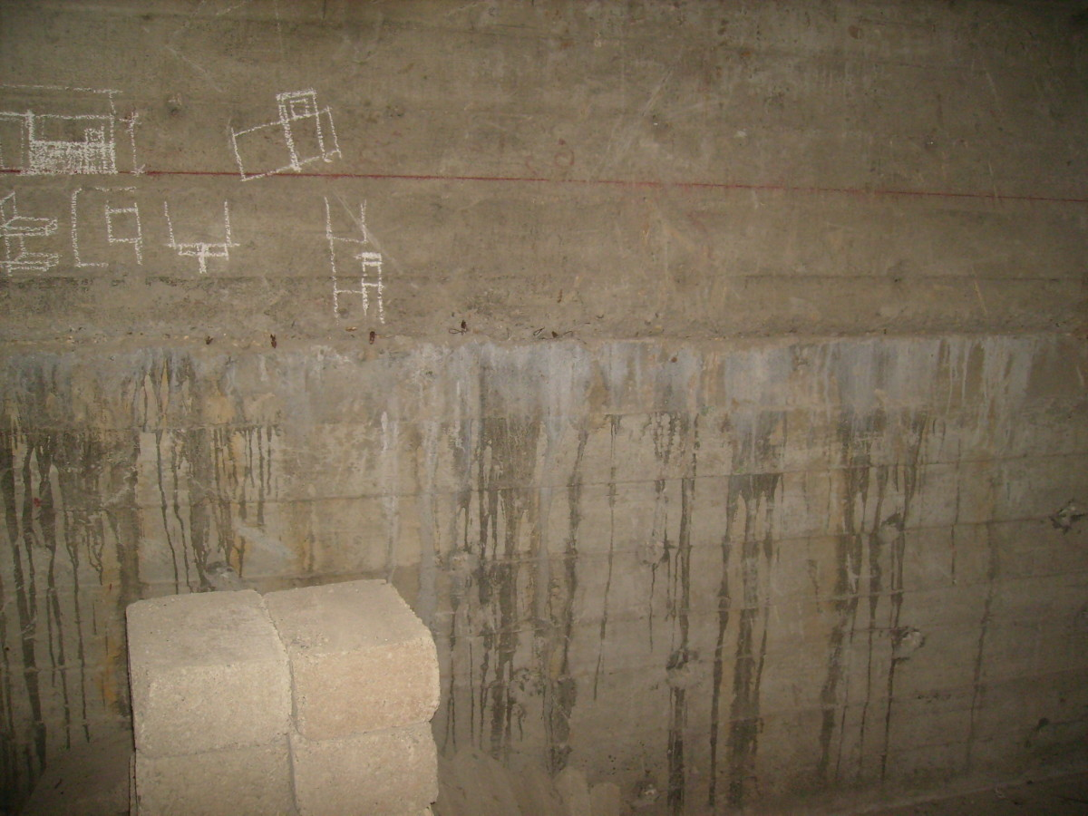 A perfect wall with Monolithic pouring technique using 'Water-stopper' strip in the structural joint.