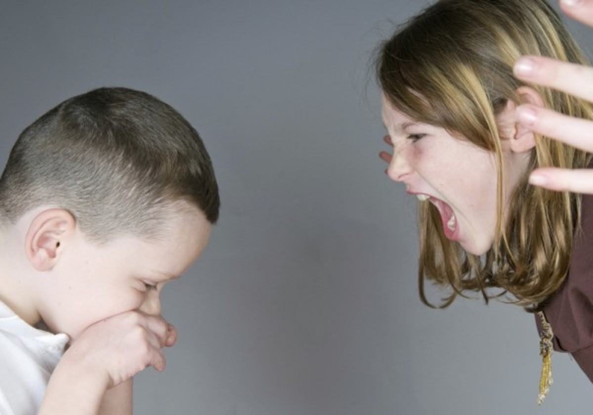 In large famlies,there is a great incidence of sibling rivalry,including sibling abuse & bullying because MORE children are vying for parental attention & resources.There's only so much parental time & resources to be given in large families.