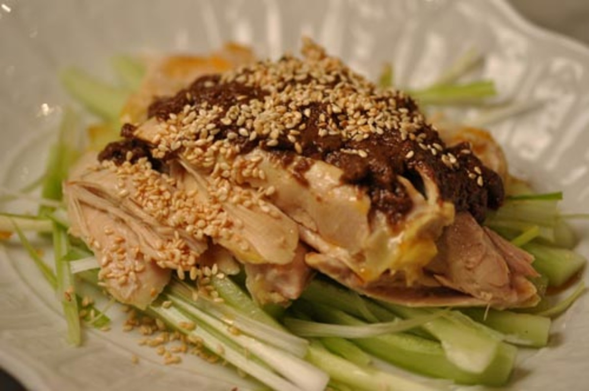 """Strange Flavour"" chicken - a great cold dish. Image:  Siu Ling Hui"