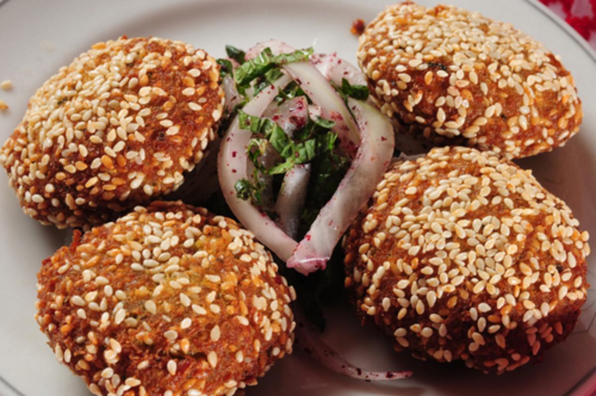 Sesame coated felafel. Image:  karam Miri|Shutterstock.com