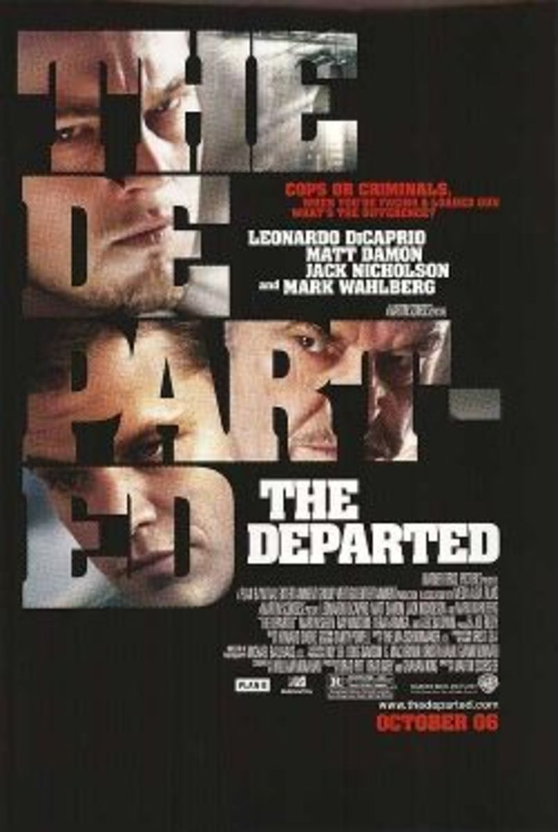 The Departed movie poster dicaprio damon nicholson