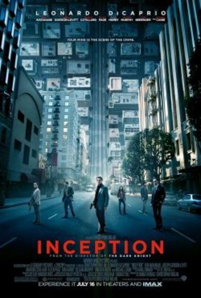 Inception movie image leonardo dicaprio