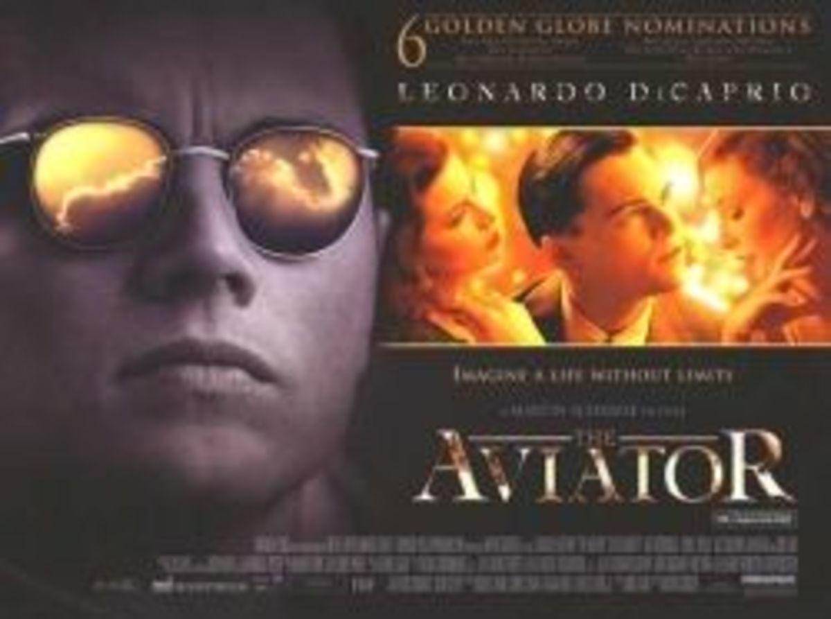 The Aviator movie image dicaprio airplane