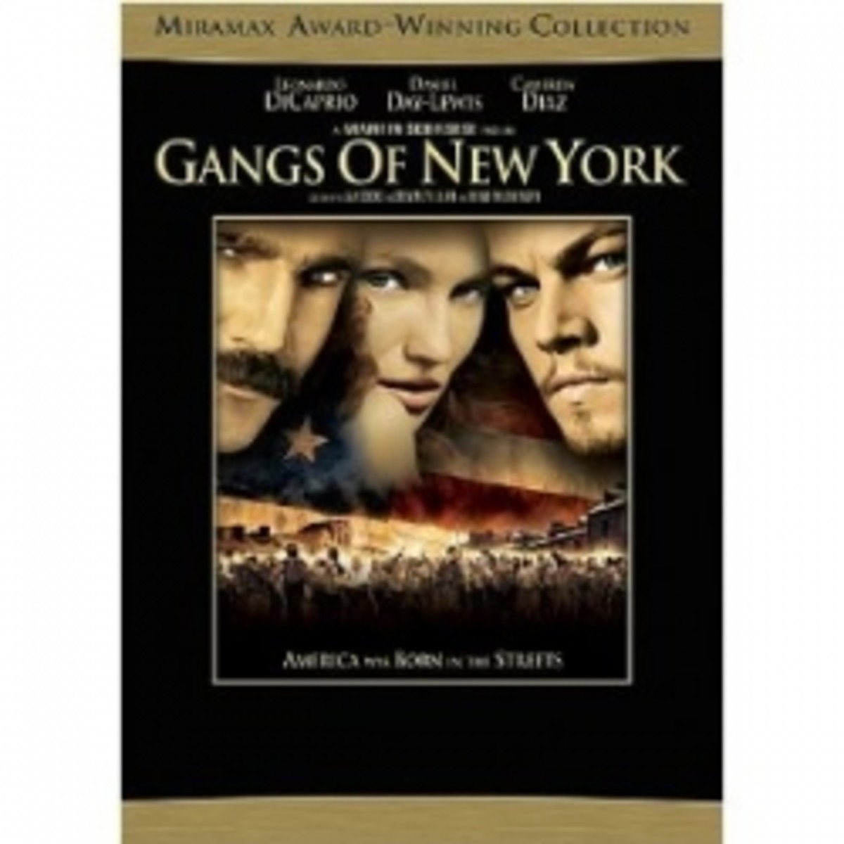 Gangs of New York movie poster dicaprio diaz day-lewis