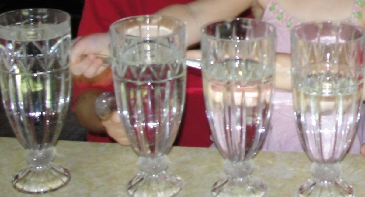 Water glasses as instruments