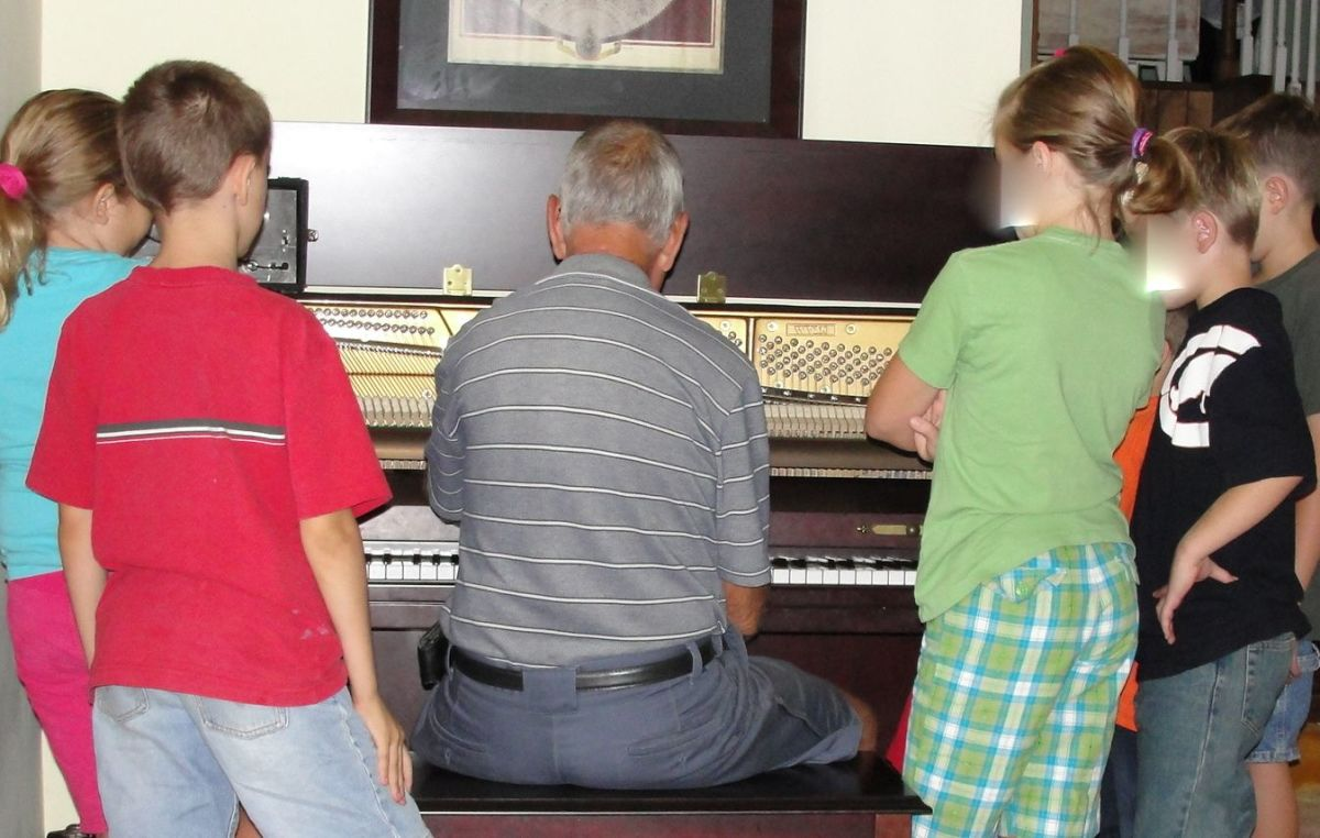 Learning how to tune a piano