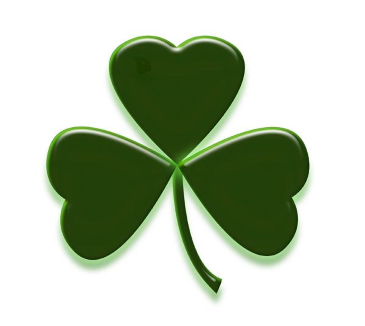 Patrick Day Shamrocks Clip Art Hubpages