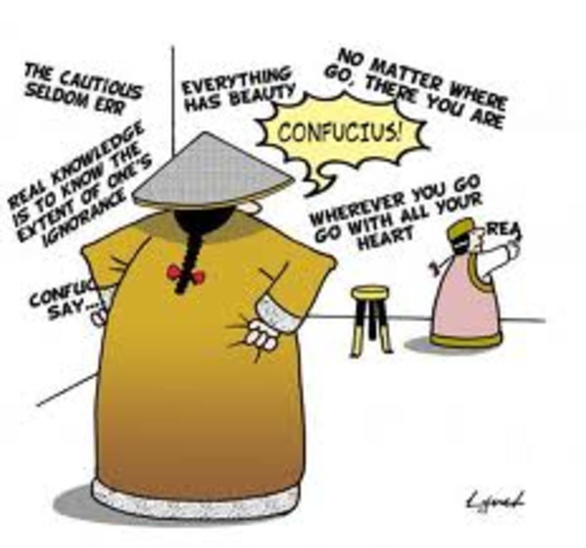 Confucius' Mama
