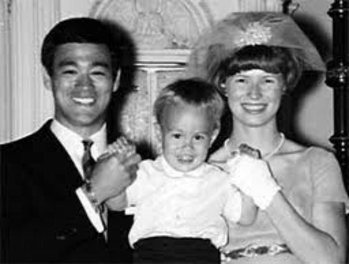 Bruce, Brandon and Linda