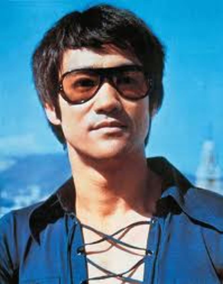 "I'm wearing my ""superstar"" sunglasses."