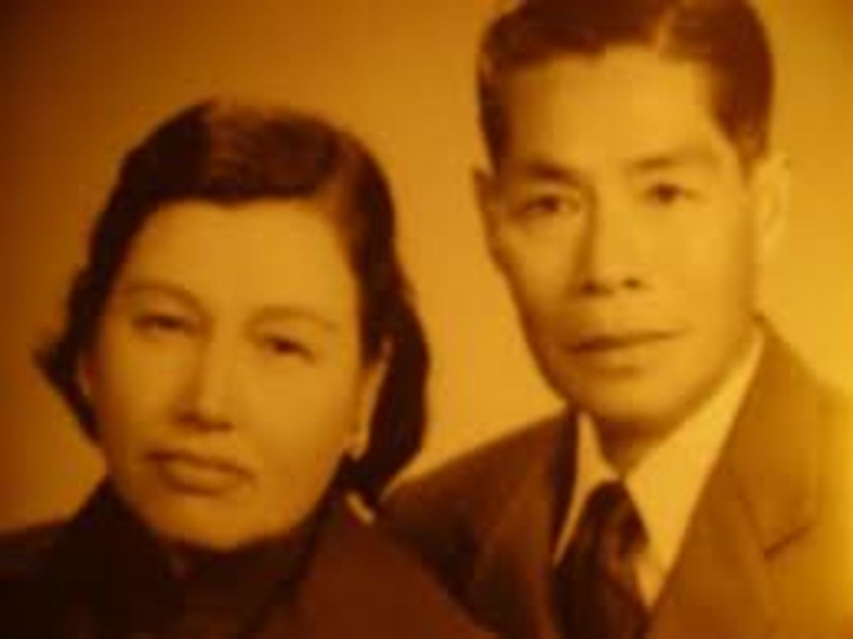 My mother, Grace Ho and my father, Lee Hoi Chuen