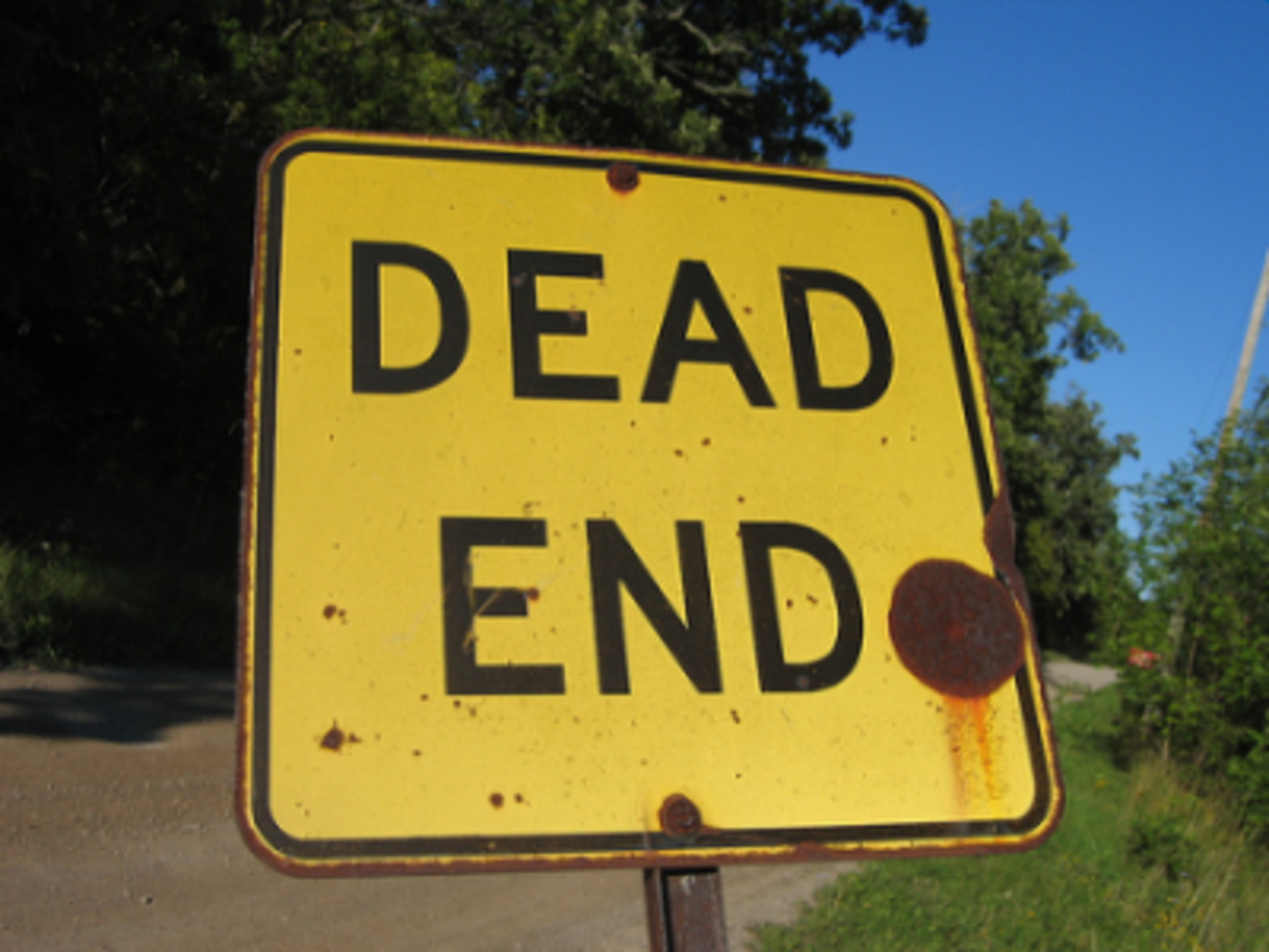 Don't choose a dead end job because of money