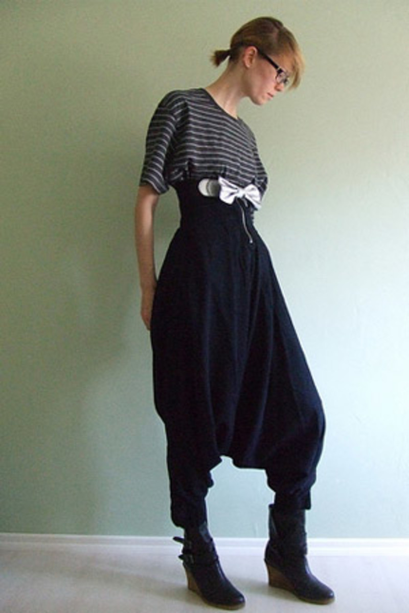 Harem Pants - should remain in the Harem not the High Street!