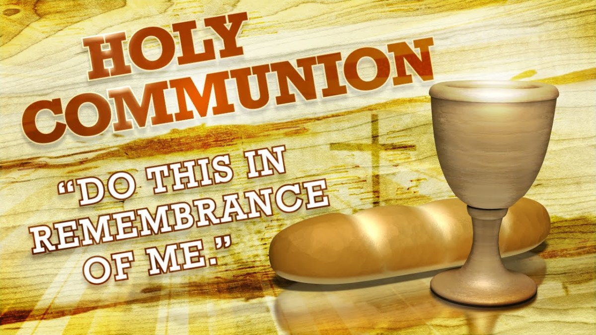 The Lord's Supper: All Five Senses Should Be Involved