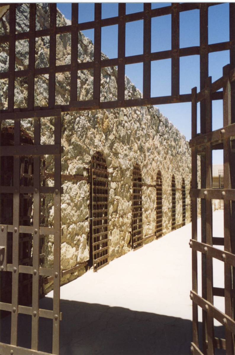 Cell block, Arizona Territorial Prison