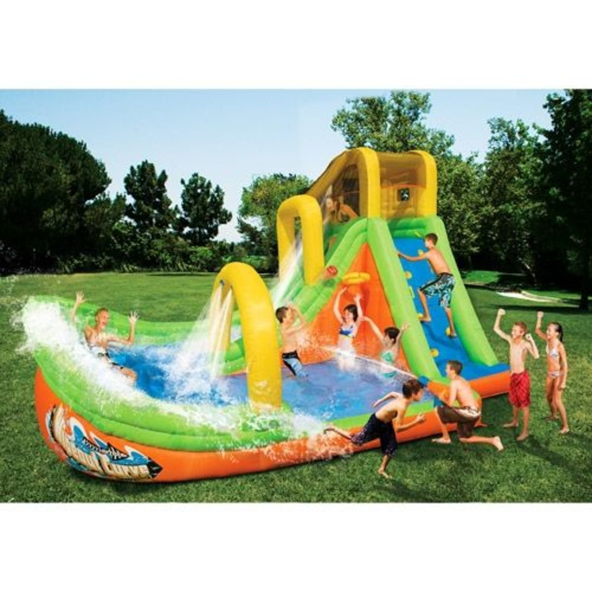 Inflatable Slide Walmart: The Best Giant Water Slides For Sale