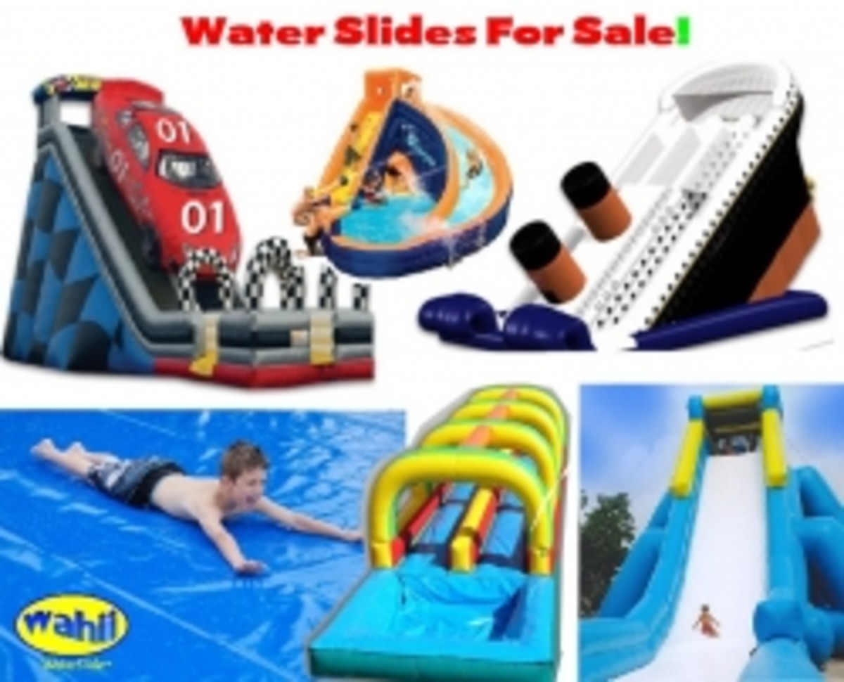 The Best Giant Water Slides For Sale