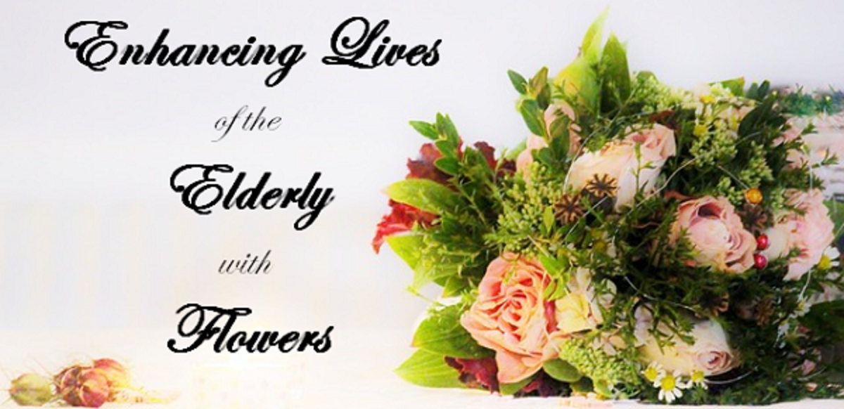 Why Flowers are Vital for Happiness and Well-being of the Elderly